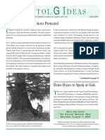 Spring 2004 Capitol GIdeas Newsletter, Capitol Land Trust