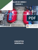 Diseño de Instalaciones de Agua Potable domiciliarias (Sistemas de bombeo)