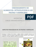 APROVISIONAR  MP- INTRODUCCION A LAS FRUTAS Y HORTALIZAS Fase II
