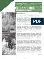 2009 Annual Report Capitol Land Trust