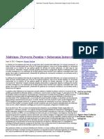 Malvinas_ Proyecto Popular y Soberanía Integral _ Juan Carlos Junio