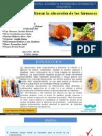 Alimentos Que Alteran La Absorción de Los Fármacos