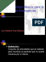 Procedimientos Básicos para la Atención de Emergencias