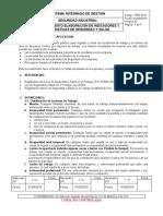PRD.SI.04 PROCEDIMIENTO DE INDICADORES DE SEGURIDAD