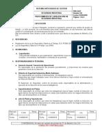 PRD.SI.03 PROCEDIMIENTO DE CAPACITACION EN SEGURIDAD INDUSTRIAL