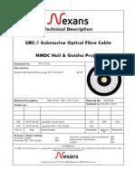 Technical Description NEXANS URC-1 Submarine Optical Fiber Cable for NMDC Hail & Ghasha Project..pdf