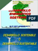 CLASE 3 DESARROLLO SUSTENTABLE  O DESARROLLO SOSTENIBLE