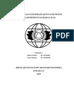 Penggunaan Informasi Akuntansi Penuh Dalam Penentuan Harga Jual