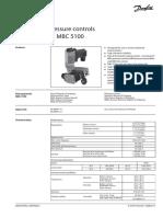 Danfoss Mbc 5000 5100 Pressure Control