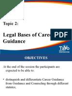 Topic 2. Legal Basis