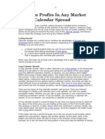 Pencil in Profits in Any Market With a Calendar Spread