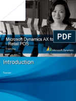 Dynamics AX Retail and POS NET Training_2.0