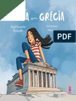 «Lolota en Grecia», Ángel Fernández Fermoselle; ilustrado por Monsuros