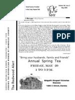 HRWF Redwood Alert  May 2005