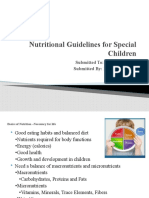 Nutritional Guidelines for Special Children.pptx
