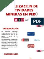FISCALIZACIÓN DE ACTIVIDADES MINERAS EN PERÚ