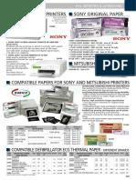 165. 72727 - Ultrasound Paper Sony UPP - 110 HG Paper