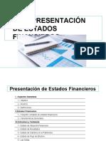 NIC 1 Estados financieros