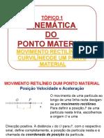 Aula 8 - Movimento RetilÃ_neo e CurvilÃ_neo