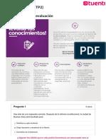 AutoEvaluación_  2 Derecho Constitucional Ues21 -87.5%