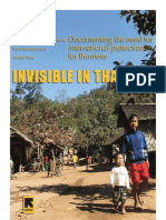 Invisible in Thailand--Tufts-International Rescue Committee Survey of Burmese Migrants in Thailand