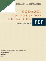 Codazzi, Un forjador de la cultura