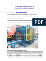 Qt Series Brick Making Machine
