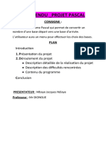 Projet Pascal de Mbaye Jacques Ndiaye