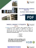 CLASS 13. CARACTERISITICAS DEL DISEÑO DE PRODUCTOS