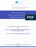 Class 12th Maths Chapter 6 (Application of Derivates) Unsolved.pdf