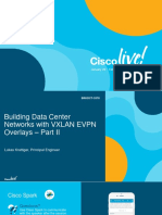 Building Data Center Networks With VXLAN EVPN Overlays – Part II