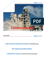 1 Cement Industry (E)