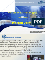 ME-218  Machine Design 1 - Lecture 9 Welded joints.pptx