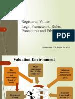 3-Registred Valuer- Legal Framework