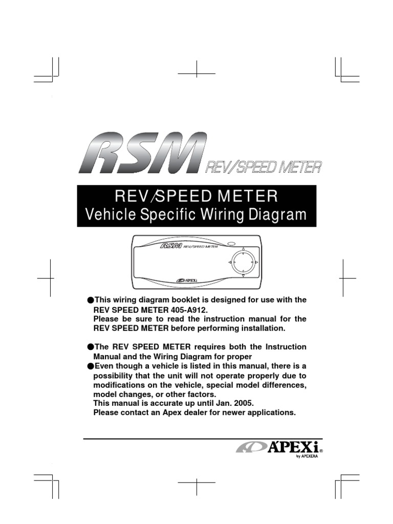 apexi RSM   Automobile Layouts   Manufacturing Companies Of Japan