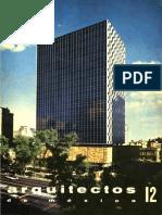 Revista Arquitectos Mexicanos 12