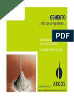 05 El cemento y las variables que afectan su comportamiento en el suelo cemento - Juan Ernesto Velez