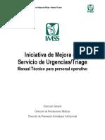 171022 Manual técnico Iniciativa de Mejora de Urgencias Personal Operativo