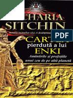 Cartea pierduta a lui Enki - Zecharia Sitchin.pdf
