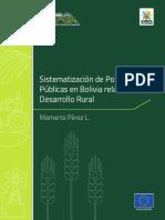 Políticas Públicas en Bolivia Desarrollo Rural