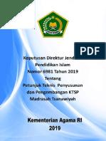 Juknis Penyusunan Dan Pengembangan KTSP MTs