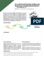 poster  PRONUNCIAMIENTOS DE LA CORTE CONSTITUCIONAL