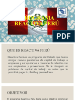 PROGRAMA REACTIVA PERU