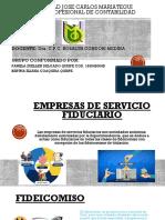 Empresas de Servivios Fiduciarios