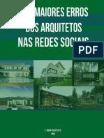 eBook Arquitetos - 5 Erros Nas Redes Sociais