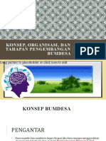 Konsep, Organisasi, dan Tahapan Pengembangan BUM Desa
