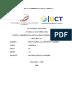 CINETICA DE PARTICULAS-METODO DE ENERGIA Y CANTIDAD DE MOVIMIENTO-DINAMICA