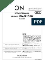 Denon DNX1500 Mix