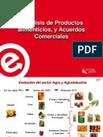 2Análisis de Productos alimenticios y Acuerdos