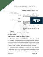 Delhi High Court Mahesh Murthy Case
